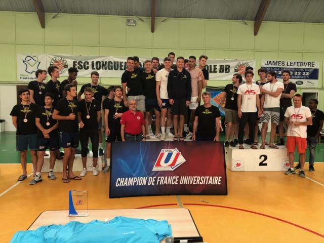 Championnat de France 2018 de  volley ball à Amiens
