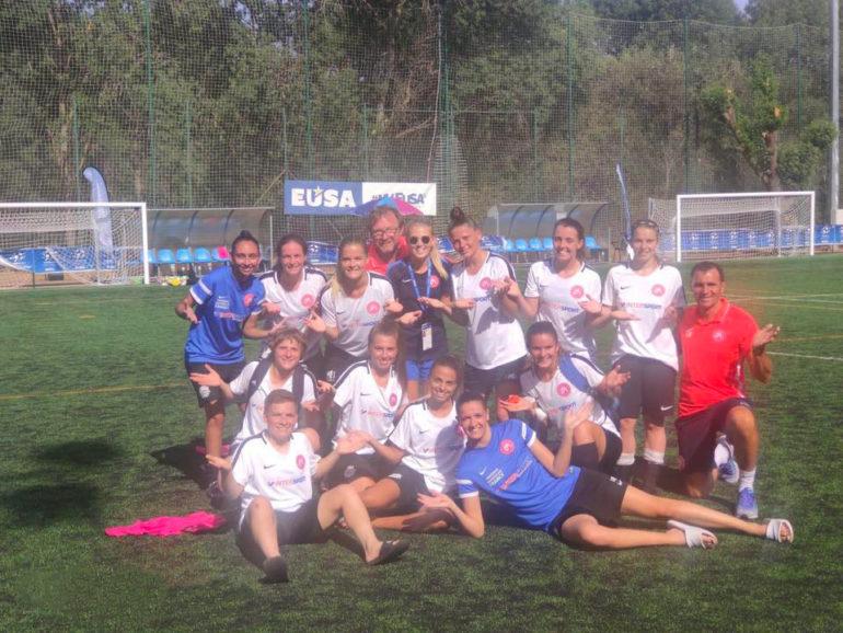 Championnat d'Europe de football féminin à Madrid, Espagne