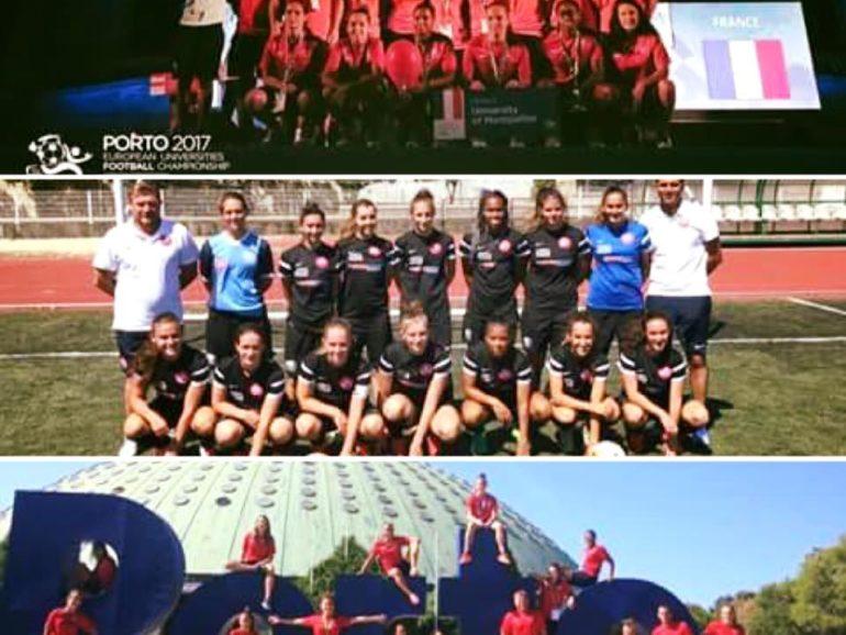 Nos féminines sont championnes d'europe de football à Porto