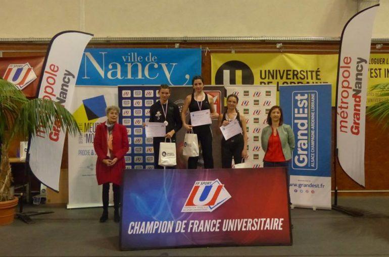 Fanny Serena  est devenue Championne de France Universitaire de Savate-Boxe Française