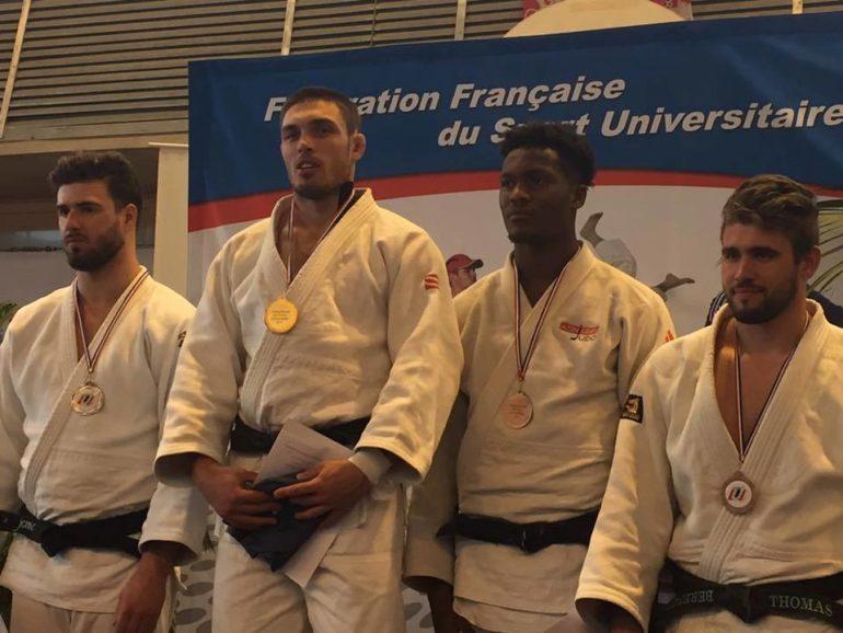 Jean Delonca, champion de france universitaire de Judo