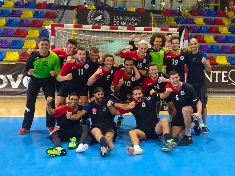 L'équipe de handball masculin est médaillée de bronze au championnat d'Europe 2017 à Malaga, en Espagne