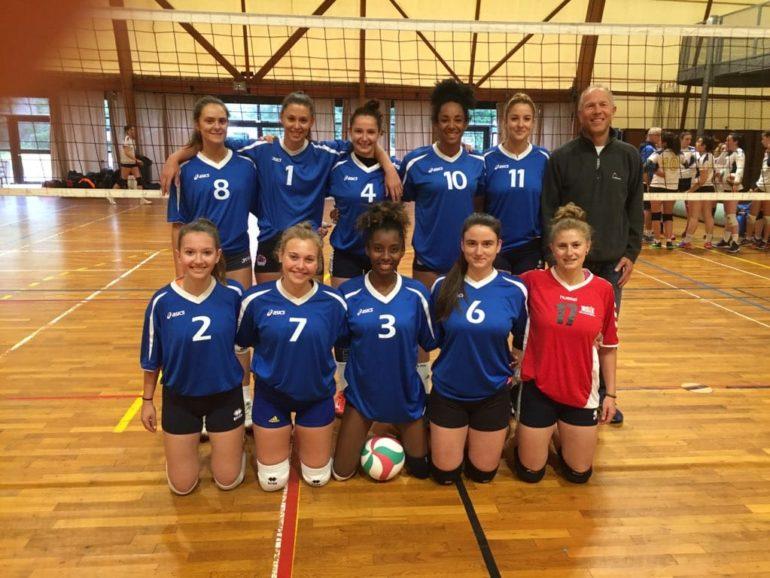 L'équipe de volleyball féminin s'incline en finale du championnat de France